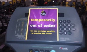 A Far Too Common Sign at Planet Fitness